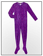 Maidenform® Microfleece Footie Pajama