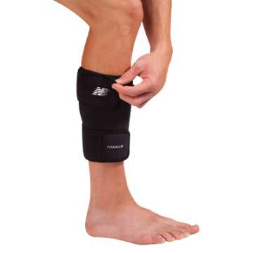 New Balance Adjustable Shin/Calf Support, Black