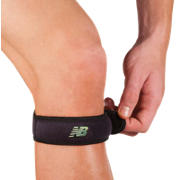 Adjustable Jumper Knee Strap, Black