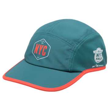 New Balance United NYC Half Run Cap, Teal