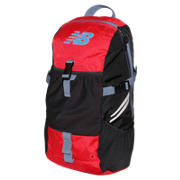 Endurance Backpack, Chrome Red with Black & Crater