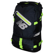 Commuter Backpack, Equinox with Toxic & Black