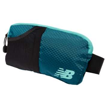 New Balance Performance Waist Pack, Castaway with Aquarius