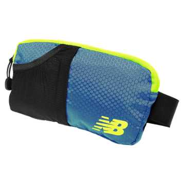 New Balance Performance Waist Pack, Riptide with Firefly