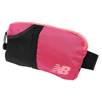New Balance Performance Waist Pack, Bright Cherry with Galaxy