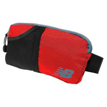 New Balance Performance Waist Pack, Chrome Red