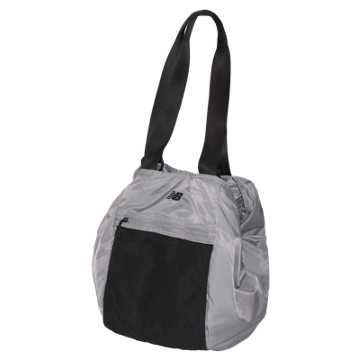 New Balance Studio Bag, Silver Mink with Black