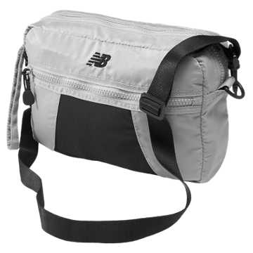 New Balance Studio Clutch, Silver Mink with Black