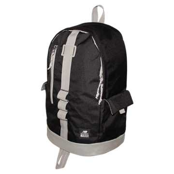 New Balance Lifestyle Backpack, Black with Stone Grey