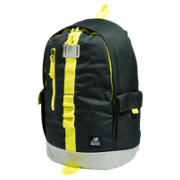Lifestyle Backpack, Rifle Green with Viper Yellow & Stone Grey