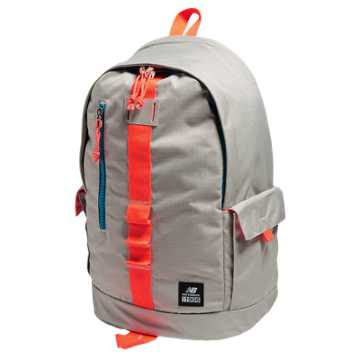 New Balance Lifestyle Backpack, Stone Grey with Dragonfly & Deep Sky