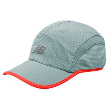 New Balance 5 Panel Performance Hat, Freshwater with Dragonfly