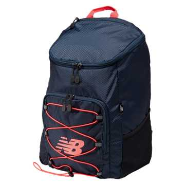 New Balance Podium Backpack, Galaxy with Bright Cherry & Guava