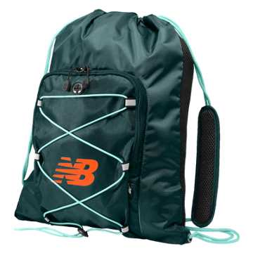 New Balance Media Cinch Sack, Storm Blue
