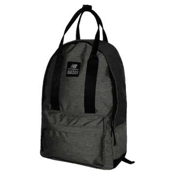 New Balance The Handler Backpack, Black with Silver Mink