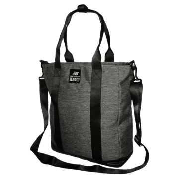 New Balance Cumberland Tote, Black with Silver Mink