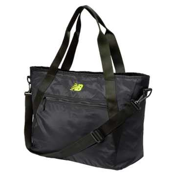New Balance Tote Bag, Black with Firefly