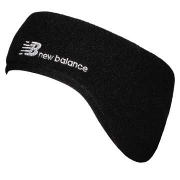New Balance Cold Weather Headband, Black