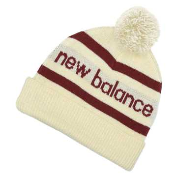 New Balance Snowball Beanie, Angora with Sedona