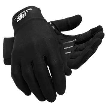 New Balance Extreme Weather Gloves, Black