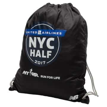 New Balance United NYC Half Gym Sack, Black