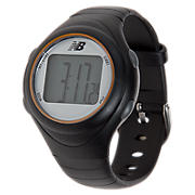 Heart Rate Monitor, Black with Orange