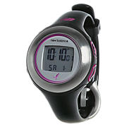 HRT Monitor, Black with Pink