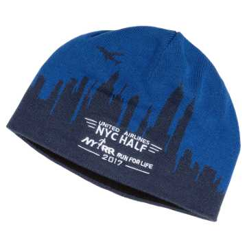 New Balance United NYC Half Performance Beanie, Blue