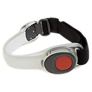 Safety Armband, Black with Red