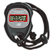 Trainer Stopwatch, Black with Red