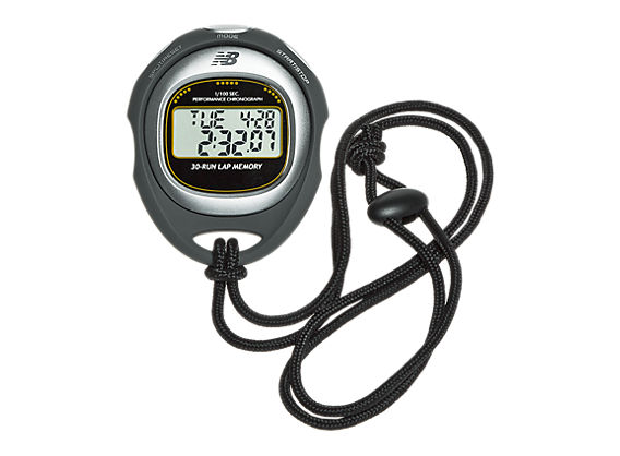 Coach Digital 30-Lap Chronograph Stopwatch, Black