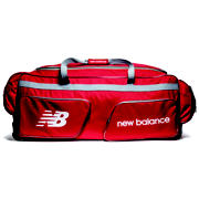 NB Cricket Junior Wheelie Bag, Red
