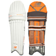 Cricket DC 480+ Pads Youth Dual Wing, Black with Orange