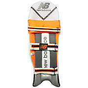 Cricket DC 580 Pads Youth Dual Wing, Black with Orange
