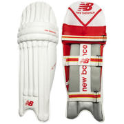 New Balance Cricket TC 560 Youth left, Red with Yellow