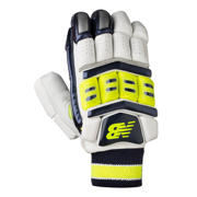 New Balance DC1080 Gloves, Blue with Neon Green
