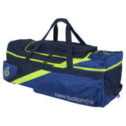 New Balance DC1080 L.E. Largest Wheelie Bag, Blue with Neon Green