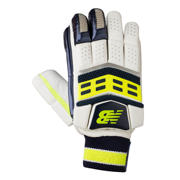 New Balance DC680 Gloves, Blue with Neon Green