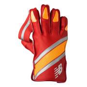 New Balance TC1260 Glove, Red with Yellow