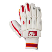 New Balance TC560 Gloves, Red with Yellow