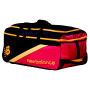 New Balance TC560 Medium  Wheelie Bag, Red with Yellow