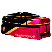 New Balance TC860 Large Wheelie Bag, Red with Yellow
