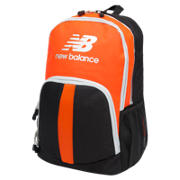 NB Solaris Backpack, Black with Flame & Silver