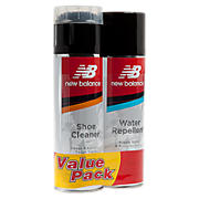 New Balance Shoe Cleaner and Water Repellent Value Pack, White with Black