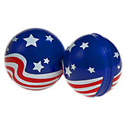 Stars and Stripes Gear Bomb, Blue with White & Red