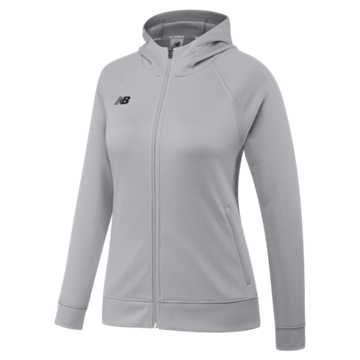 Women's Travel Hoodie, Light Grey
