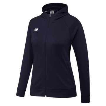 Women's Travel Hoodie, Team Navy