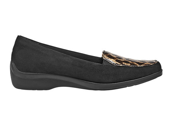 Aravon Wendy, Black Suede with Tan