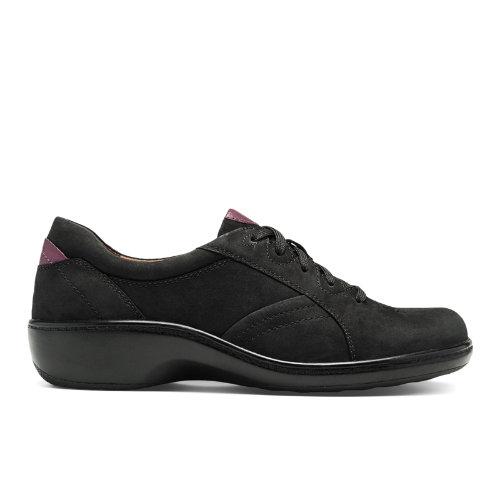Aravon Delilah-AR Women's Casuals Shoes - Black Nubuck (AAG05BKN)