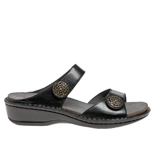 Aravon Charlotte Women's Casuals Shoes - Black (AAL08BK)